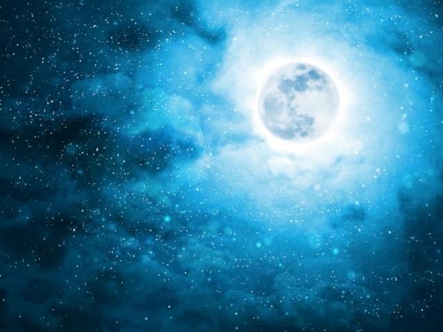 皆既月食の「Blood Moon」