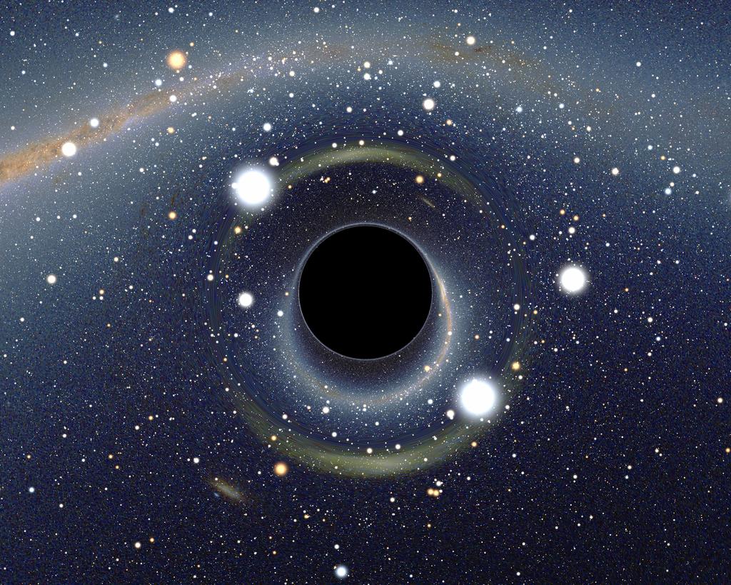 ブラックホール wikipedia 引用
