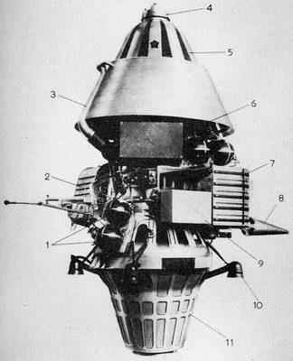 ルナ11・12号(E-6LF型)探査機 wikipedia