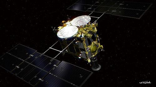 小惑星探査機「はやぶさ2」 wikipedia