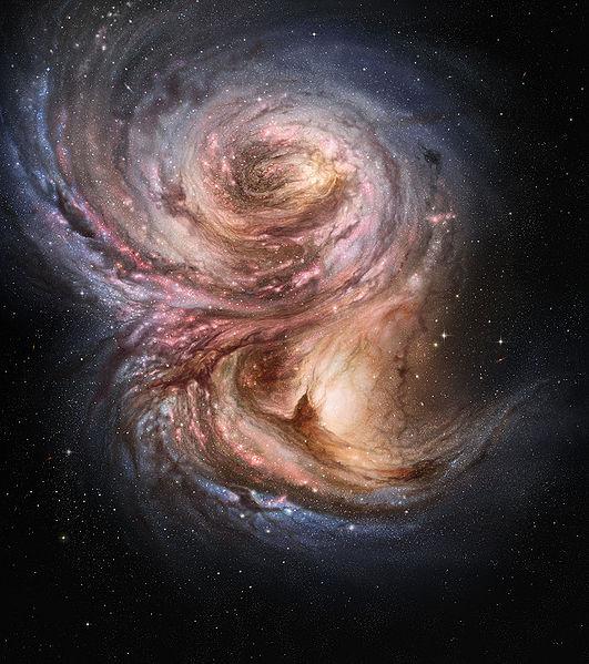銀河 SMM J2135-0102 wikipedia