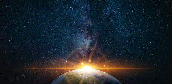 地球に隕石が衝突 f