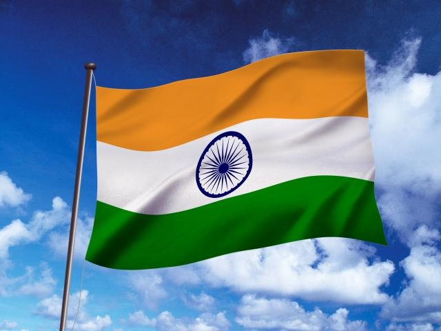 インド 国旗 f