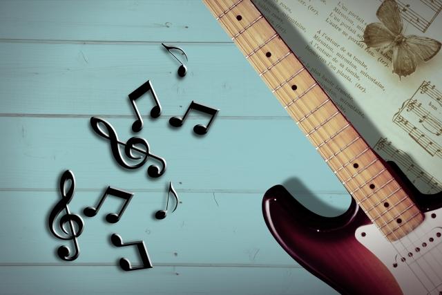 ギター f