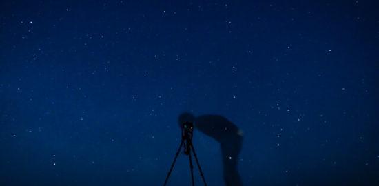 星座を天体観測 f